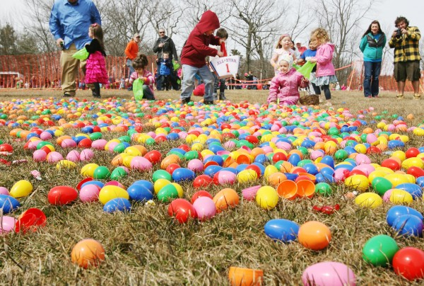 Helicopter Egg Drop In Portland News Bangor Daily BDN Maine