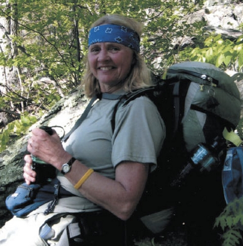 Searsport native Peggy Alden Stout is the author of &quotLetters from the Trail,&quot a book published in 2013 that shares Stout's experiences hiking the Appalachian Trail in sections from 2000 to 2010.