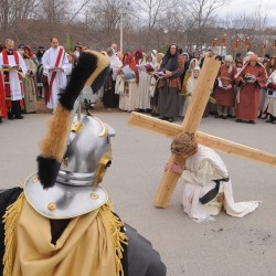 Outdoor Way of Cross from Brewer to Bangor set for Palm Sunday