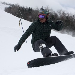 UMF's Keough wins national snowboard title