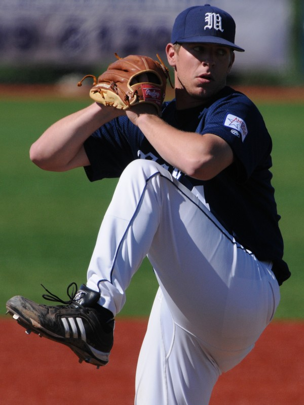 University of Maine pitcher A.J. Bazdanes, who sat out 2012 after undergoing Tommy John elbow surgery, has bounced back to post a 2-1 record and 3.51 record this season.