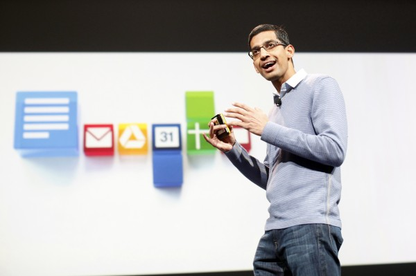 Sundar Pichai, senior vice president of Google Chrome, speaks during a conference in this June 28, 2012, file photo. Google Inc. on Wednesday appointed Pichai as chief of its Android division, replacing Andy Rubin as the overseer of a software platform that in just a few years has become the world's most-used mobile software.