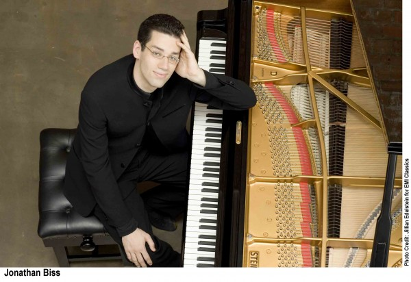 Concert pianist Jonathan Biss will perform at the University of Maine on Sunday, March 10, 2013.
