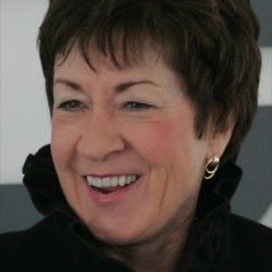 Collins visits Hawaii to stump for Republican Senate candidate