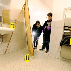 Brewer students learn about forensic photography
