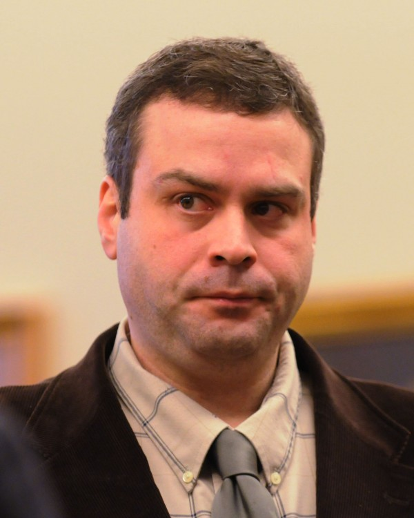 Former Bangor police detective Erik Tall was in court on Monday during a motion to suppress evidence against him from his Oct. 2012 OUI case. Tall resigned from the department in Jan. 2013.