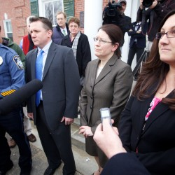 Personnel file of police officer, key witness in Kennebunk Zumba prostitution trial, may have been purged