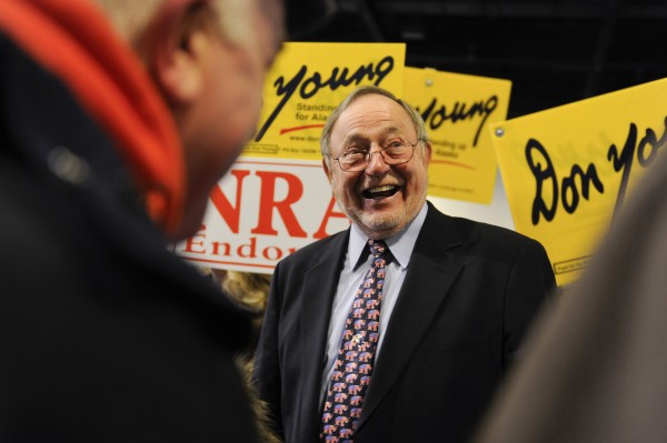 Alaska U.S. Rep. Don Young, a Republican, won re-election to a 21st term on Nov. 6, 2012.