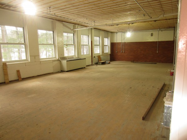 The old Longfellow School library, on the second floor facing Longfellow Street, will become a drawing studio.