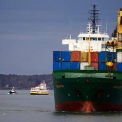 Maine's container ship service shutting down for lack of volume