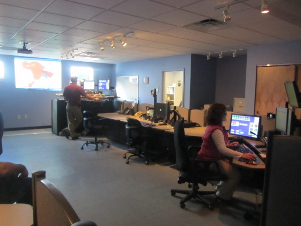 The Knox County Communications Center has also moved into the new public safety complex.
