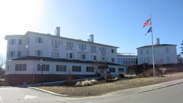 The Brunswick Housing Authority, working with the Midcoast Senior Community Housing Association, is looking into redeveloping the Capt. Daniel Stone Inn on Water Street into mixed-income senior housing, according to BHA executive director John Hodge.