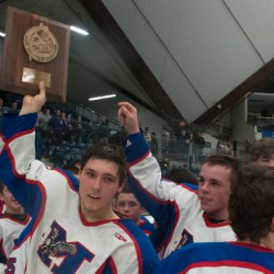 Leonard, John Bapst seek first EM 'B' hockey title; Bangor meets Lewiston in 'A'
