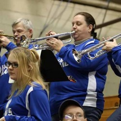 UMaine Symphonic Band plays for island community, hopes to inspire students to get involved with music