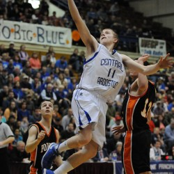 Defense, balanced offense help undefeated Easton boys basketball team top rival Central Aroostook