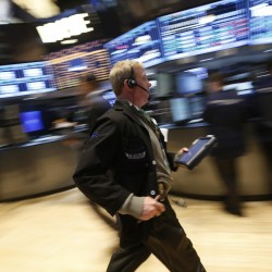 Data lifts Dow to a record, S&P near record close