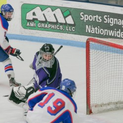 Cunningham brothers, Condon power unbeaten Messalonskee hockey team past Brewer