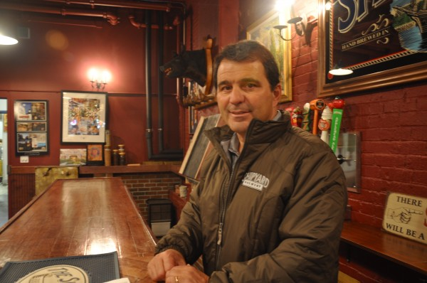 Fred Forsley, president and co-owner of Shipyard Brewing Co., stands in the brewery's tasting room on Feb. 28, 2013. Shipyard has grown into the 16th-largest craft brewery in the country.