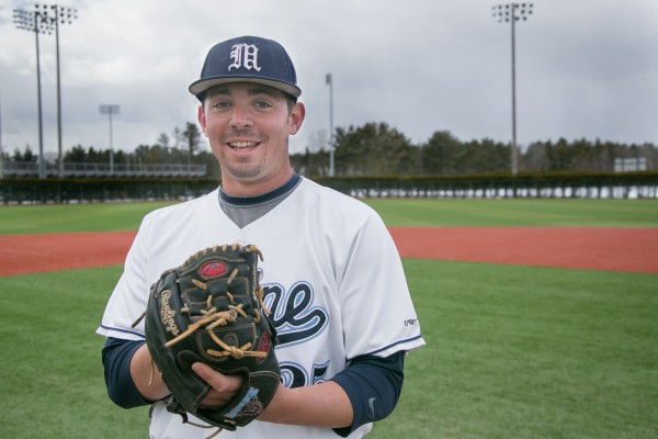 Junior right-handed pitcher Tommy Lawrence has set the pitching tone for the University of Maine baseball team this season.