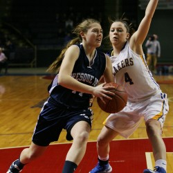 Guerrette helps Presque Isle girls hold off Lake Region for state B title
