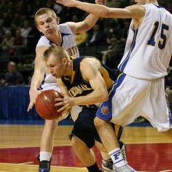 Falmouth turns in dominating performance, beats York in WM 'B' boys title game