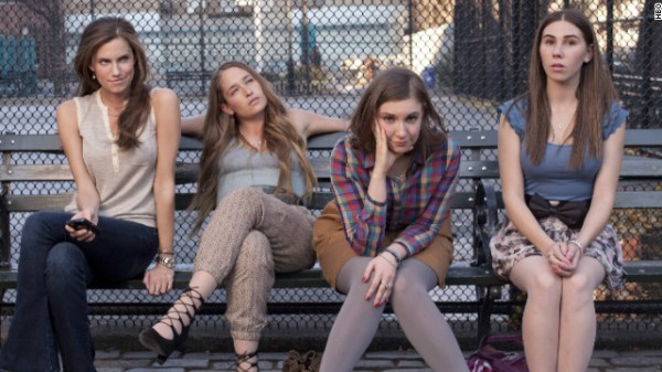 Members of the cast of the HBO series &quotGirls.&quot