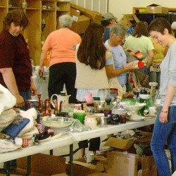 Gibbs Library Garage Sale Gearing up - Seeking Donations