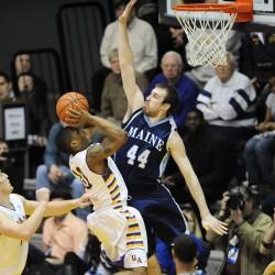 Johnson, Albany hand UMaine men's basketball team fourth straight loss