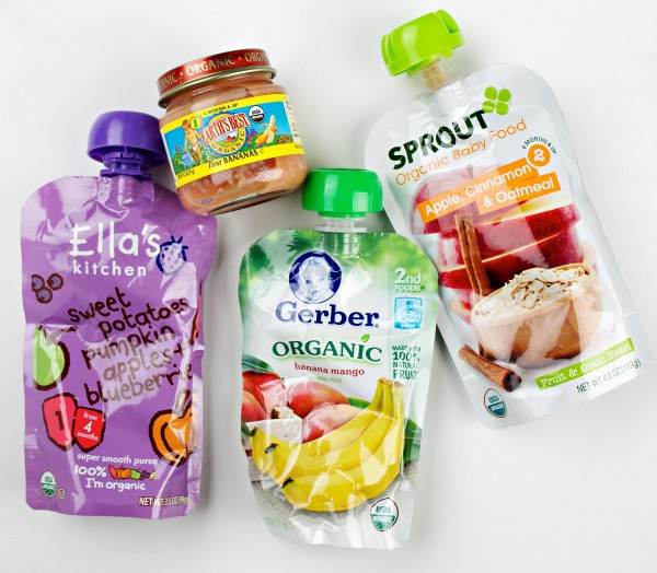 Squeezable pouches of organic baby food hit the market about five years ago and have exploded in popularity since, according to organic baby food manufacturer Happy Family.