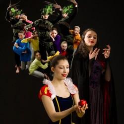 Bangor Ballet dancers present Snow White. Photo by Michael Hallahan, FinePrints