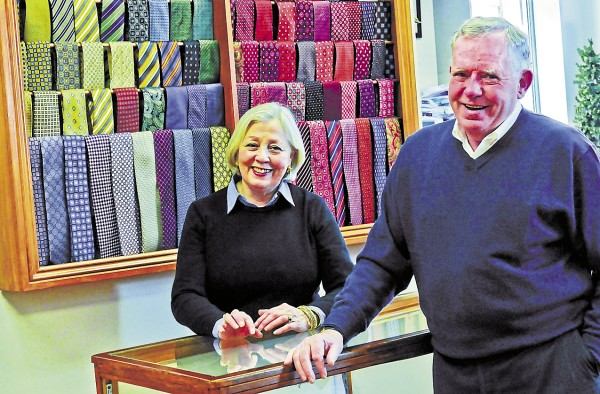 Best Bib and Tucker owners Cindi and Tom Cavanaugh have seen a lot during the past 40 years from their location in Bangor. The store's vision remains stalwart though providing one-on-one service to help people look their best.