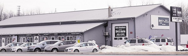 D&S Auto is located at 221 Dirigo Drive, Brewer.