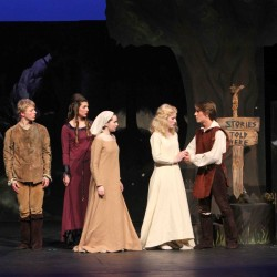 Orono High School Drama Festival entry 'Far Away'