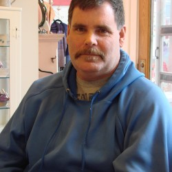 Becky's Seafood owner, James Robinson