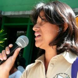 Sandra Carolina Ascencio speaks out about mining in El Salvador.