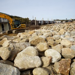 Sea wall protecting Maine Sea Coast Mission built 'strong to the land, strong to the sea'