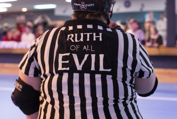 Even the referees give themselves nicknames that play on the sport's hell-raising spirit.