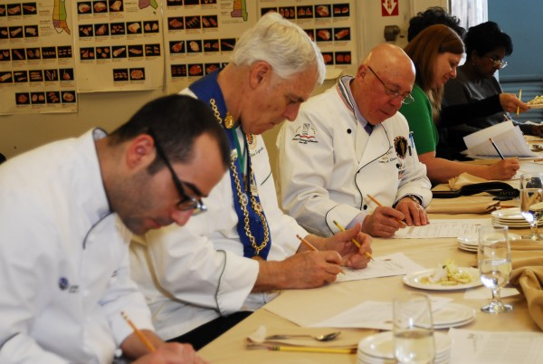 Judges from around the country lend their culinary expertise on March 10 for the regional competition of the Jeunes Chefs Rotisseur Competition, held at SMCC.