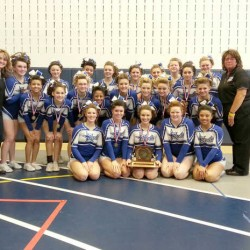 Lewiston wins fourth straight EM 'A' cheering title; Bangor second, Brewer third