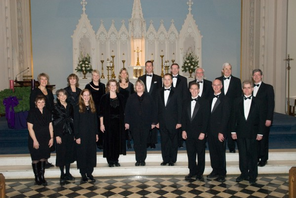 Founded in 1995, the Chamber Choir at St. John's Catholic Church performs sacred choral music ranging from chant to modern works. Photo by Andrea Hand