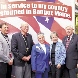 VFW Auxiliary president recognized for military service