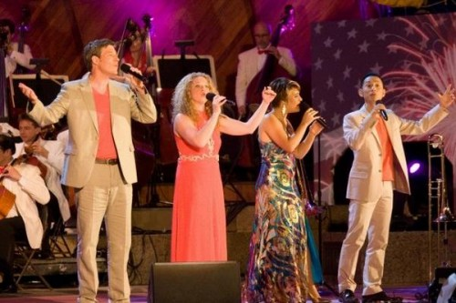 MODERN-DAY MANHATTAN TRANSFER: Electrifying stages with jazz harmonies across the eastern US, Syncopation will be presented April 2 for a public performance at Gould Academy by the Mahoosuc Arts Council with support from a grant by the New England Foundation for the Arts.