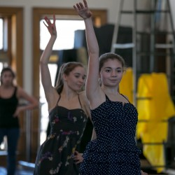 Dancers prep for Robinson Ballet performance