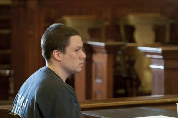 Daniel Porter pled guilty to manslaughter at the Waldo County Courthouse on Wednesday, April 4, 2013.