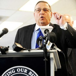 LePage signs bill to shield gun permit holders' information from public view