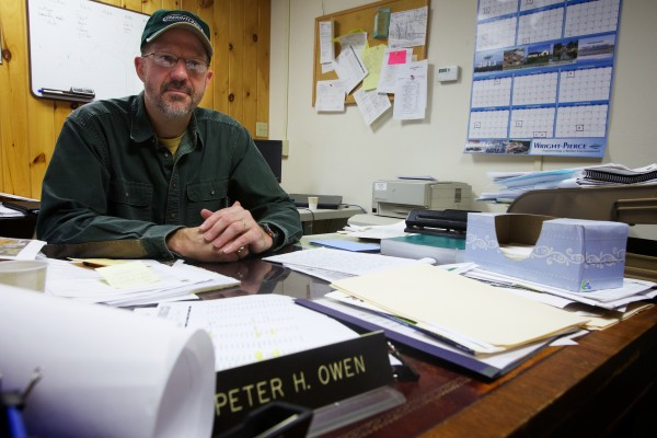 Bath Director of Public Works, Peter Owen, is in charge of the city's landfill, which also takes waste from neighboring towns. Owen estimates the facility has around 15 more years of life before it must be closed.