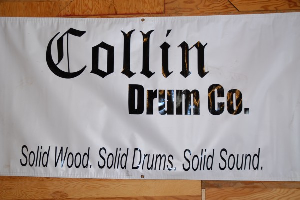 Curtis Collin has no intention of ever moving his drum company from the St. John Valley.