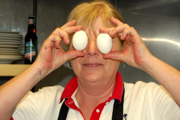 Jane Fogg is renowned for the unique assortment of &quoteggcellent&quot breakfast fare she serves up six days a week at Chester Pike's Galley, a popular seasonal restaurant on Route 1 in Sullivan that reopened on Saturday.