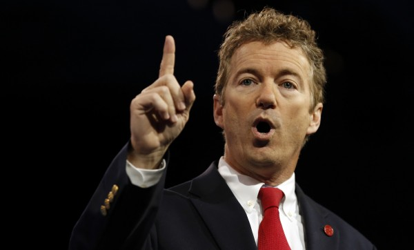 U.S. Sen. Rand Paul, R-Ky., speaks at the Conservative Political Action Conference on March 14, 2013.