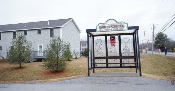 The entrance to Birch Circle in Bangor as seen on Wednesday. Bangor police are investigating a stabbing Tuesday evening that left a man dead at this small housing complex just near the intersection of Ohio Street and Finson Road in Bangor.